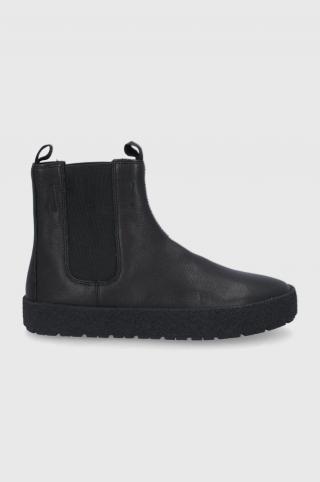 Vagabond - Kožené topánky Chelsea Fred pánské čierna 40