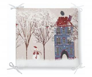Vankúš na stoličku Minimalist Cushion Covers Merry Christmas 42x42 cm Pestrofarebná 42x42 cm