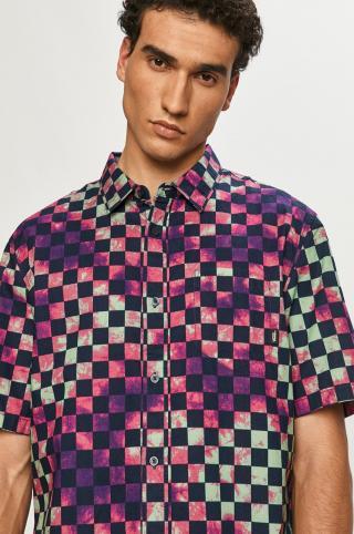 Vans - Bavlnená košeľa pánské viacfarebná S