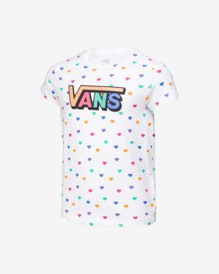 Vans Colorful Hearts Tričko detské Biela dámské M