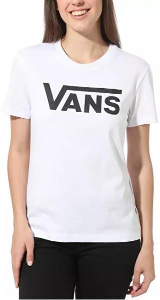 VANS Dámske tričko WM Flying V Crew Tee White VN0A3UP4WHT1 XL