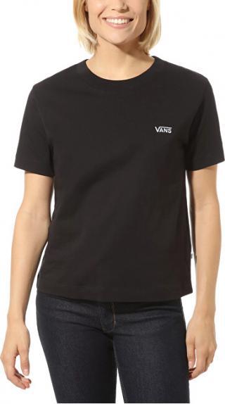 VANS Dámske tričko WM Junior V Boxy Black VN0A4MFLBLK1 M