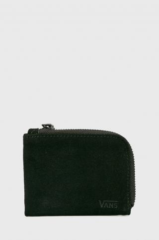 Vans - Kožená peňaženka pánské čierna Univerzálna