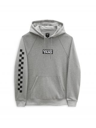 VANS Mikina Versa Standard  sivá / čierna / biela pánské XXL