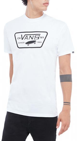 VANS Pánske tričko MN Full Patch White / Black VN000QN8YB21 XL