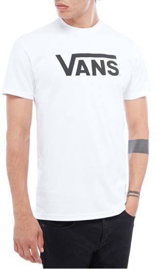 VANS Pánske tričko MN Vans Class ic White / Black VN000GGGYB21 M