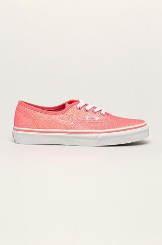 Vans - Tenisky Neon Glitter Authentic ružová 36