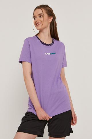 Vans - Tričko dámské fialová XS