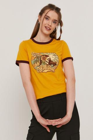 Vans - Tričko dámské oranžová S
