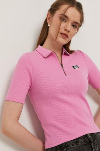 Vans - Tričko dámské ružová S