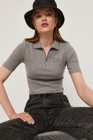 Vans - Tričko dámské sivá XS