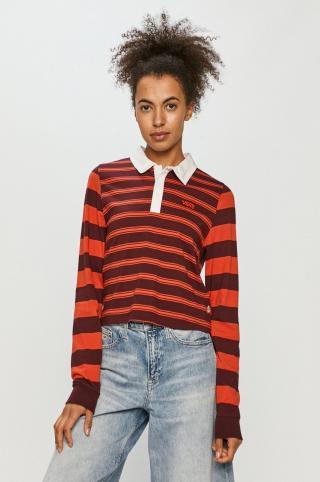 Vans - Tričko s dlhým rúkavom dámské červená S