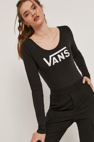 Vans - Tričko s dlhým rúkavom dámské čierna S