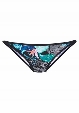VENICE BEACH Bikinové nohavičky Smash  modrá / tyrkysová / čierna dámské XL