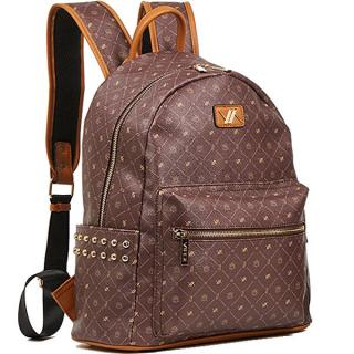 Verde Dámsky batoh 16-6062 Brown dámské hnedá