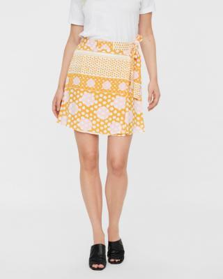 Vero Moda Anna Sukňa Žltá Oranžová dámské L