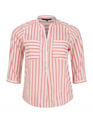 Vero Moda Curve Blúzka VMErika  biela / rosé dámské 4XL