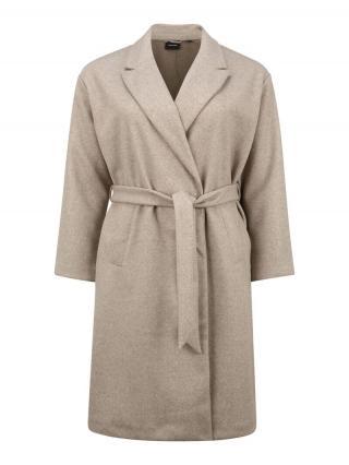 Vero Moda Curve Prechodný kabát Fortune  strieborná dámské XXL