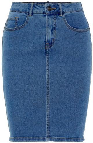 Vero Moda Dámska sukňa Hot Nine Hw DNM Pencil Skirt Mix Noos Medium Blue Denim M