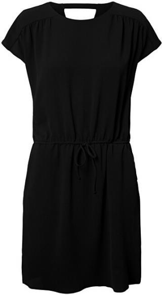 Vero Moda Dámske šaty VMSASHA BALI SS SHORT DRESS Noosa Black XL dámské