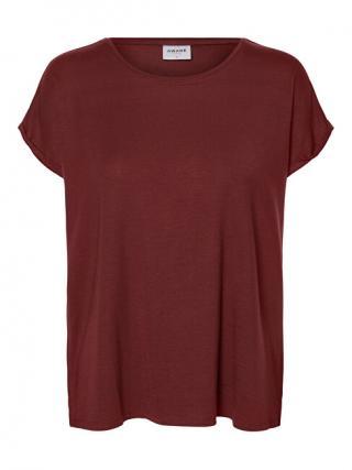 Vero Moda Dámske tričko Ava Plain Ss Top Ga Noos Port Royal XS