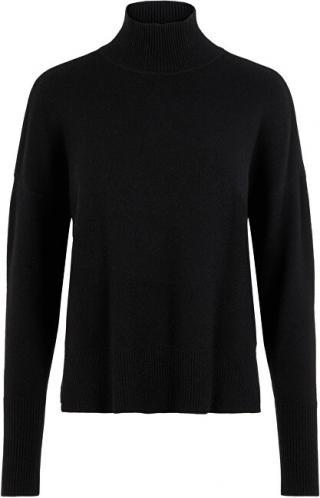 Vero Moda Dámsky sveter VMNIMA LS Highneck Blouse Black S