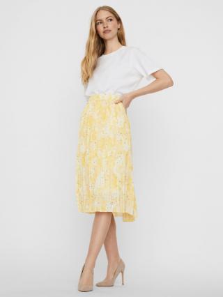 Vero Moda Flora Sukňa Žltá dámské S
