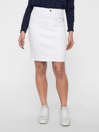 Vero Moda Hot Nine Sukňa Biela dámské XS