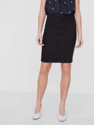Vero Moda Hot Sukňa Čierna dámské S