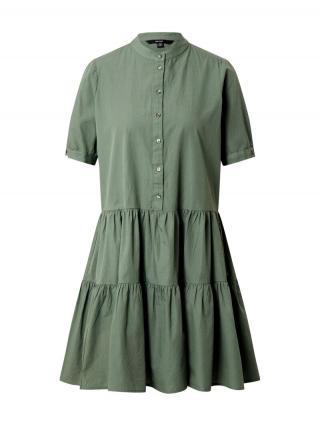 VERO MODA Košeľové šaty DELTA  nefritová dámské 34