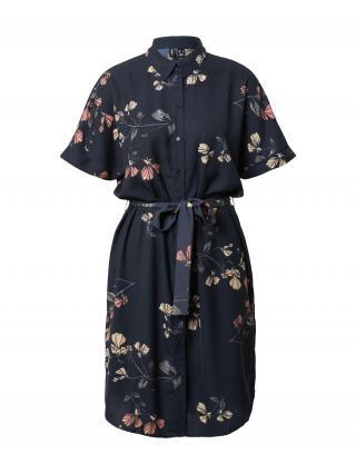 VERO MODA Košeľové šaty  modrá / ružová dámské 42