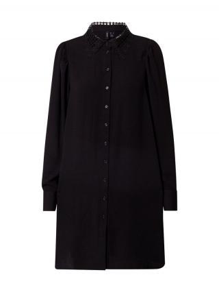 VERO MODA Košeľové šaty Wigga  čierna dámské 34
