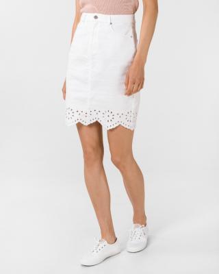 Vero Moda Lisa Sukňa Biela dámské XL