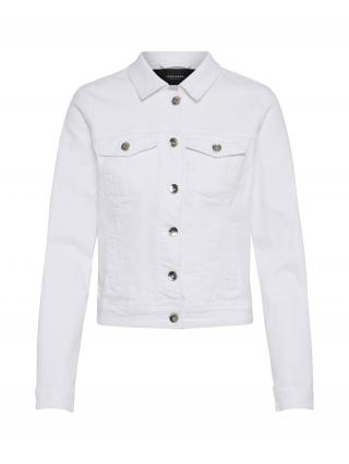 VERO MODA Prechodná bunda HOT SOYA  biela dámské XL