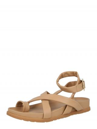 VERO MODA Remienkové sandále HELO  svetlobéžová dámské 41