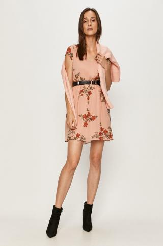 Vero Moda - Šaty dámské ružová XS