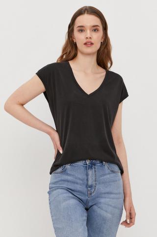 Vero Moda - Tričko dámské čierna XS