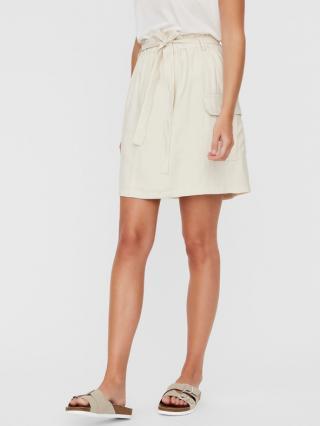 Vero Moda Venus Sukňa Biela dámské XS
