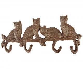 Vešiak Cats Žltá & Zlatistá
