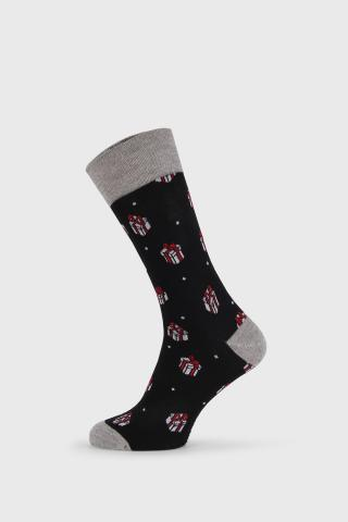 Vianočné ponožky Gift pánské ČIERNA 40-45
