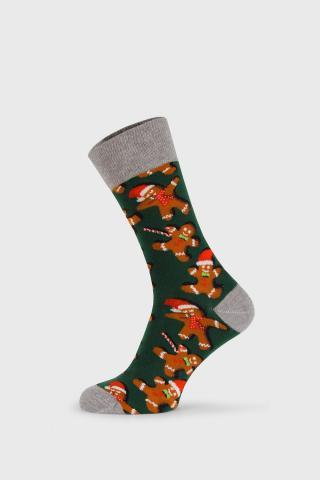 Vianočné ponožky Gingerbread pánské farebná 40-45