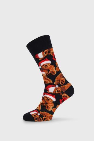 Vianočné ponožky Teddy pánské farebná 40-45