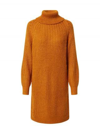 VILA Pletené šaty Suba  oranžová dámské XS
