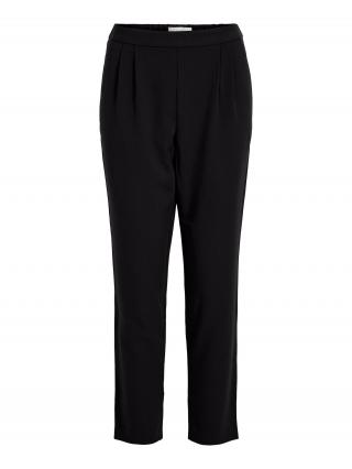 VILA Plisované nohavice Titti  čierna dámské 40