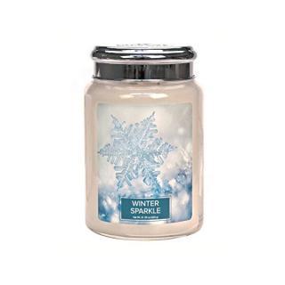 Village Candle Vonná sviečka v skle Winter Sparkle 602 g