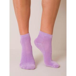Violet short women´s socks dámské Other 36-40