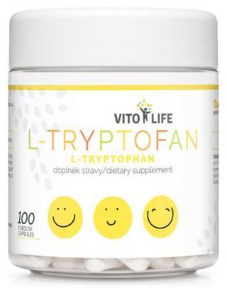 Vito life L-Tryptofan 200 mg, 100 tobolek