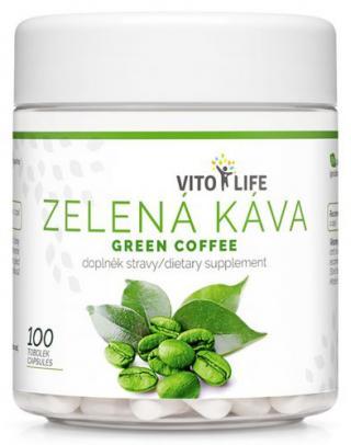 Vito life Zelená káva, 100 tobolek