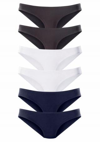 VIVANCE Nohavičky  námornícka modrá / čierna / biela dámské XL