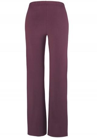 VIVANCE Pyžamové nohavice  farba lesného ovocia / čierna dámské XL